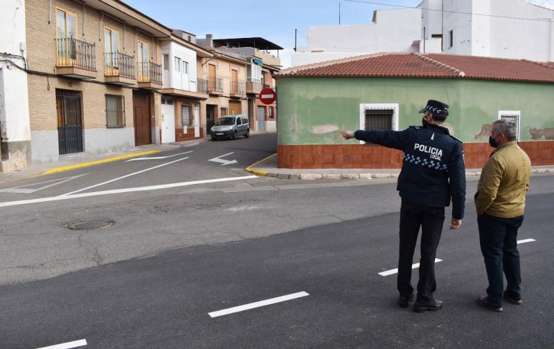 Tráfico calle Magdalena