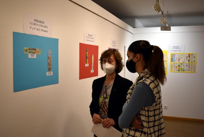 Exposición de marcapáginas
