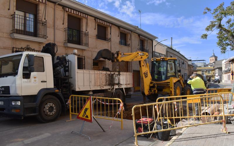 Obras en Calle Dehesa