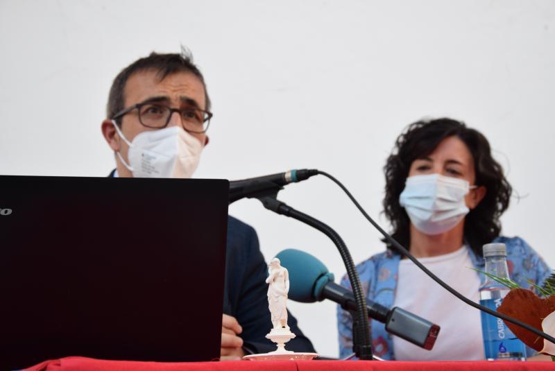 Miguel Torres y María Isabel Ángulo, ponentes del proyecto de valorización de 'La Manola'