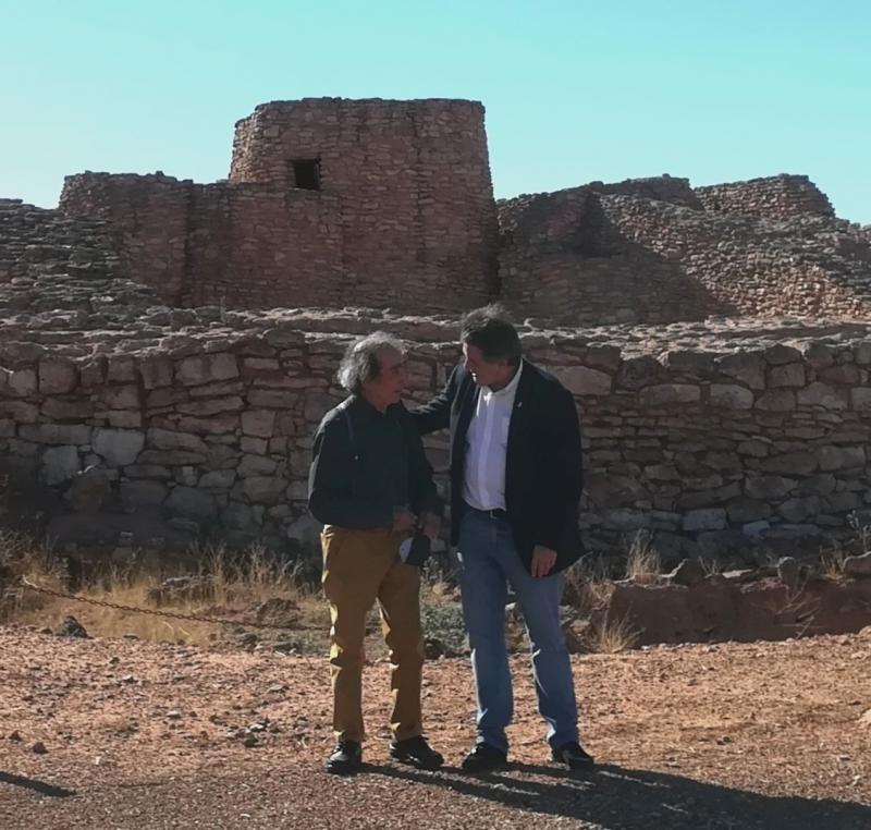 Leopoldo Sierra y Jesús González-Mohíno