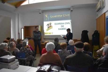 Charla Guardia Civil